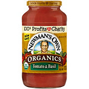 Newman's Own Organics Tomato And Basil Pasta Sauce