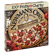 Newman's Own Thin Crust Supreme Italian Sausage Pepperoni Pizza