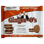 Newmans Own Ginger O's Cream Filled Ginger Cookies