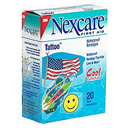 Nexcare First Aid Waterproof Tattoo Bandages Shop Nexcare First
