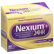 Nexium 24 Hour Esomeprazole Magnesium 22.3 mg Delayed Release Capsules