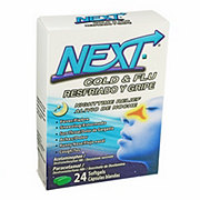 Next Cold & Flu Nighttime Relief Softgels