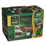 Nica's Coffee Organic Dark Chocolate Single Serve Cups