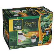 Nica's Coffee Organic Tropical Fusion Single Serve Cups