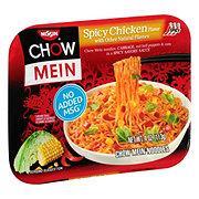 Nissin Chow Mein Spicy Chicken Flavor  Noodles