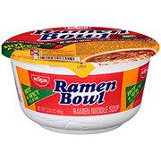 Nissin Ramen Bowl Hot & Spicy Flavor Ramen Noodle Soup