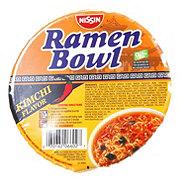 Nissin Ramen Bowl Kimchi Flavor Ramen Noodle Soup
