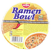 Nissin Ramen Bowl Spicy Chicken Flavor Ramen Noodle Soup