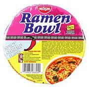 Nissin Ramen Bowl Spicy Shrimp Flavor Ramen Noodle Soup