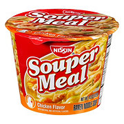 Nissin Souper Meal Chicken Flavor with Vegetable Medley Ramen Noodle Soup