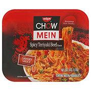 Nissin Spicy Teriyaki Beef Flavor Chow Mein