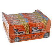 Nissin Top Ramen Chicken Flavor Noodle Soup Family Pack