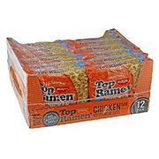 Nissin Top Ramen Chicken Flavor Noodle Soup Family Pack