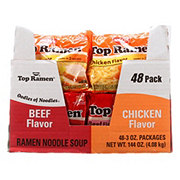 Nissin Top Ramen Noodle Soup Club Variety Pack 48 CT