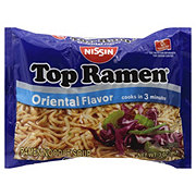 Nissin Top Ramen Oriental Flavor Ramen Noodle Soup