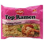 Nissin Top Ramen Shrimp Flavor Ramen Noodle Soup