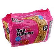 Nissin Top Ramen Shrimp Flavor Ramen Noodle Soup 6 pk