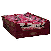 Nissin Top Ramen Shrimp Flavor Ramen Noodle Soup Value Pack