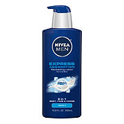 Nivea Men Express Absorption 3-in-1 Body Face & Hands Lotion