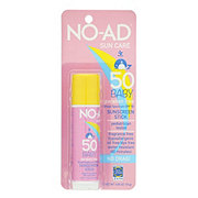 NO-AD Baby Sunscreen Stick SPF 50