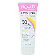 NO-AD Naturals Baby Clear Mineral Formula SPF 50