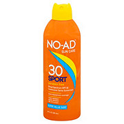 NO-AD Sport Continuous Spray Sunscreen Waterproof SPF 50
