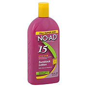 NO-AD Suncare Lotion SPF 15