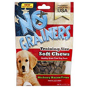No Grainers Soft Chews Hickory Bacon