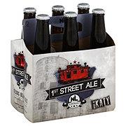 No Label 1st Street Ale Beer 12 oz  Bottles