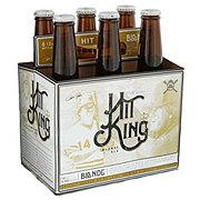 No Label Hit King Beer 12 oz  Bottles
