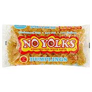 No Yolks Dumplings