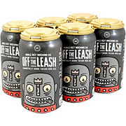 Noble Rey Brewing Off The Leash Texas Red Ale Beer 12 oz  Cans