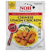NOH of Hawaii Chinese Lemon Chicken Sauce Mix