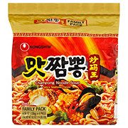 Nongshim Champong Noodle Soup Family Pack
