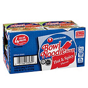 Nongshim Hot And Spicy Bowl Noodle Soup