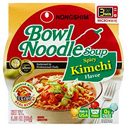 Nongshim Kimchi Flavor Bowl Noodle Soup