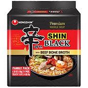 Nongshim Shin Black Noodle Soup Family Pack