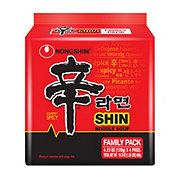 Nongshim Shin Ramyun Hot & Spicy Noodle Soup