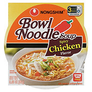 Nongshim Spicy Chicken Bowl Noodle Soup