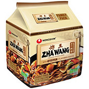 Nongshim Zha Wang Noodles with Roasted Chajng Sauce, Family Pack