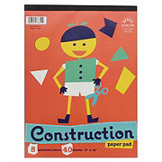 Norcom 40 Sheet Light Colors Construction Paper Pad