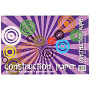 Norcom 8 Assorted Colors Construction Paper, 12x18 in