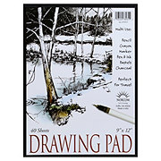 Norcom 9x12 in 40 Sheet Drawing Pad