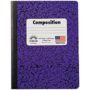 Norcom College Rule Composition Book, Assorted Colors