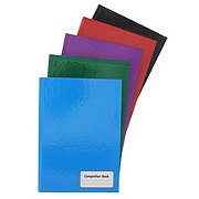 Norcom Hard Cover Wide Rule Composition Book, Colors May Vary