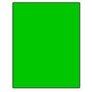 Norcom Premium Poster Board, Green