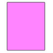 Norcom Premium Poster Board, Neon Pink