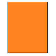 Norcom Premium Poster Board, Orange