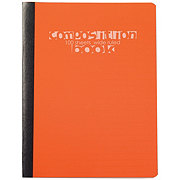 Norcom Wide Rule 100 Sheet Poly Composition Book, Assorted Colors