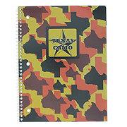 Norcom Wide Ruled Texas Camo Theme Book, Assorted Colors